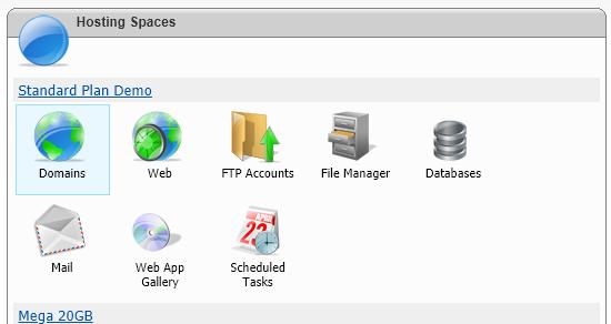 hosting spaces
